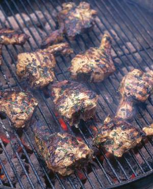 Photo: Spicy lamb chops