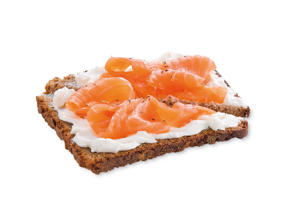 Photo: Open-faced Sandwiches - Originally from Scandinavia, these are unique among sandwiches in that they are made with 1 slice of bread. Use a dense bread, such as pumpernickel, so you can pick it up easily.
