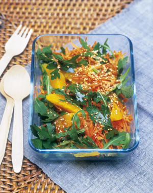 Photo: Carrot and orange salad