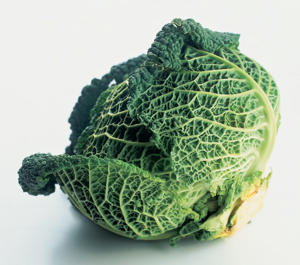 Photo: Cabbage - This is a superfood. Rich in folate, cabbage is also a good source of beta-carotene (a precursor of vitamin A), vitamin C, fiber, and cancer-fighting phytochemicals.