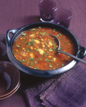 Photo: Spicy bean soup