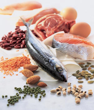 Photo: Body-building essentials - Your body needs protein for growth and repair: the healthiest sources include low-fat options such as fish, white-meat poultry, and legumes.
