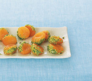 Photo: Cardamom-poached apricots