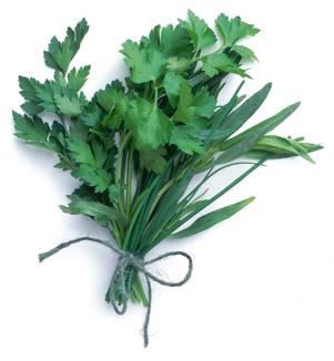 Photo: Soft, fresh mixed herbs lift the flavor of vegetable dishes, salads, and meat or poultry stews. Chop or tear over your finished dish.