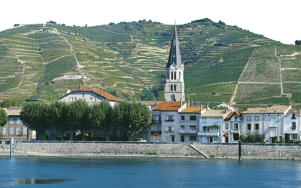 Photo: View across the Rhône River to Tain L'Hermitage