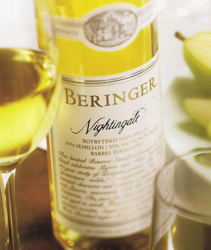 Photo: Beringer's Nightingale wine