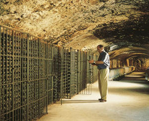 Photo: Cellar at Château la Nerthe