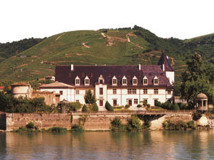Photo: Château d'Ampuis, forming part of Guigal's estate