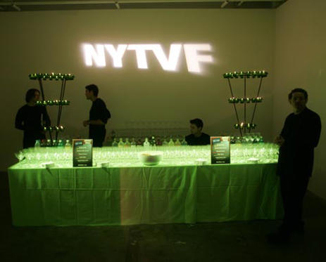 Slide 1 of 8: A collection of memorable moments from past NYTVF parties and events