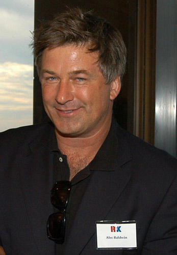 Slide 1 of 12: Alec Baldwin at the Robert F. Kennedy Memorial Benefit Reception