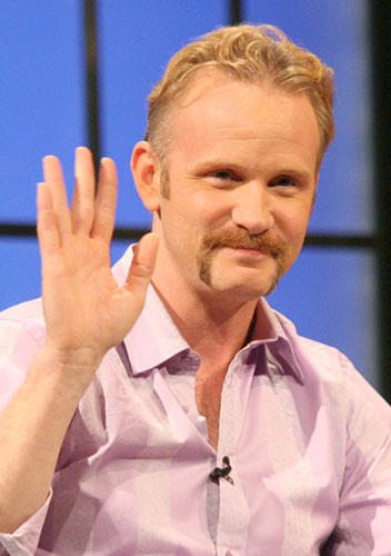 "Slide 1 of 4: Morgan Spurlock at the Amazon.com ""Fishbowl with Bill Maher"""