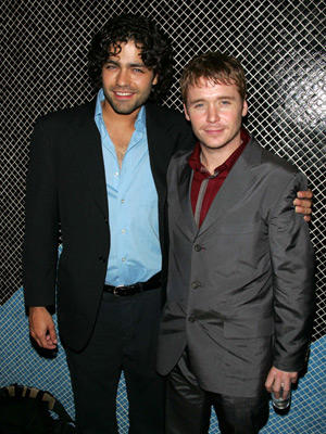 Slide 1 of 19: Adrian Grenier and Kevin Connolly
