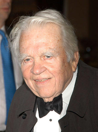 Slide 1 of 19: Andy Rooney at the 11th Annual Living Landmarks Gala