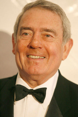 Slide 1 of 6: Dan Rather at the 2006 Writers Guild Awards
