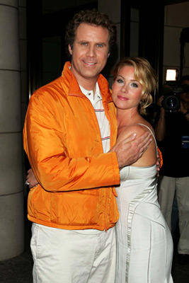 Slide 1 of 42: Will Ferrell and Christina Applegate at the Anchorman premiere in New York City on July 07, 2004