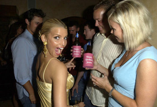 Slide 1 of 30: Nick Lachey and Jessica Simpson