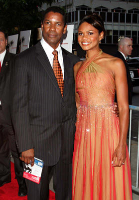 Slide 1 of 138: Denzel Washington and Kimberly Elise at the The Manchurian Candidate premiere in New York City on July 19, 2004