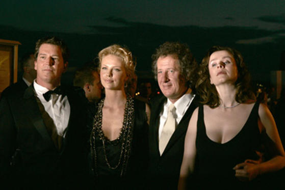 Slide 1 of 20: Stephen Hopkins, Charlize Theron, Geoffrey Rush and Emily  Watson
