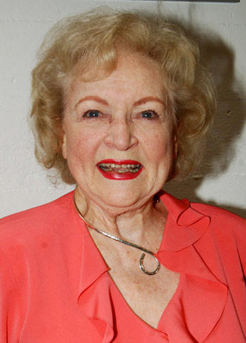 "Slide 1 of 7: Betty White at the ""Golden Girls"" Honored with Dedication Ceremony at The Sunset-Gower Studios Stage 2"