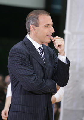 Slide 1 of 11: Matt Lauer