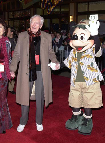 Slide 1 of 3: Buddy Ebsen at Disney's California Adventure Grand Opening