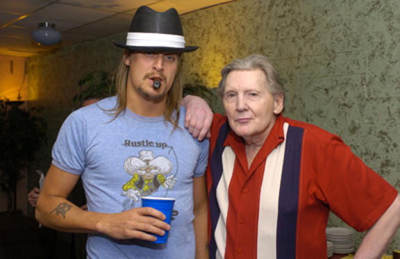 Slide 1 of 242: Kid Rock and Jerry Lee Lewis