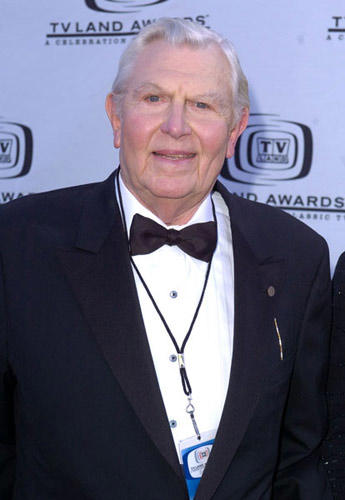 Slide 1 of 3: Andy Griffith at the 2004 TV Land Awards