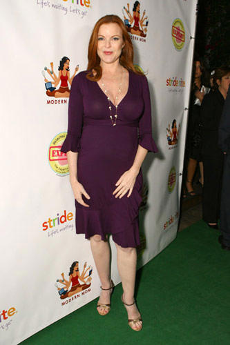 Slide 1 of 30: Marcia Cross at the Modern Mom Mingle to Benefit Children's Health Environmental Coalition
