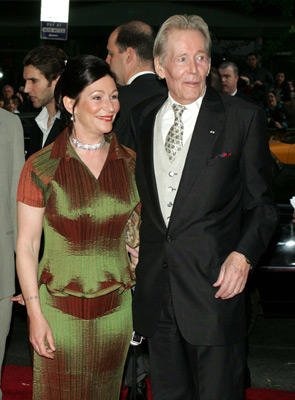 Slide 1 of 133: Peter O'Toole (right) and daughter Kate Phillips O'Toole at the Troy premiere in New York City on May 10, 2004