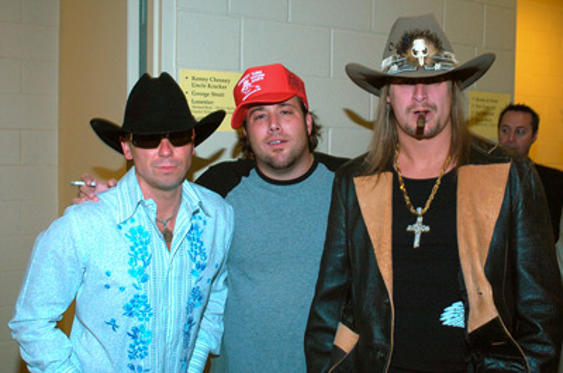 Slide 1 of 30: Kenny Chesney, Uncle Kracker and Kid Rock