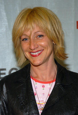 Slide 1 of 56: Edie Falco at the Coffee and Cigarettes premiere in New York City on May 05, 2004