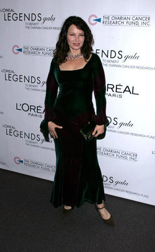 Slide 1 of 13: Fran Drescher at the L'Oreal Legends Gala Benefiting the Ovarian Cancer Research Fund