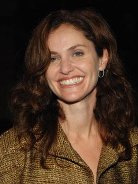 "Slide 1 of 17: Amy Brenneman at the ""10 Items or Less"" Los Angeles Premiere"