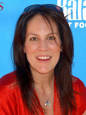 "Slide 1 of 21: Annabeth Gish at the Kick-Off Party for ""Dine With Your Dog Day"""