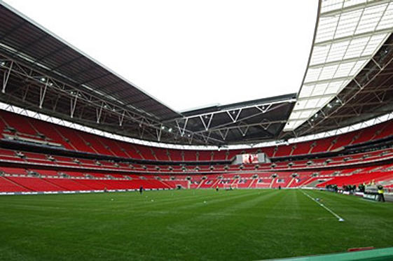 Slide 1 of 5: Wembley Stadium