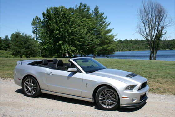 Slide 1 of 13: 2013 Ford Mustang Shelby GT500 Convertible