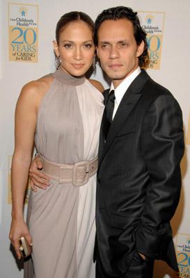 Slide 1 of 14: Jennifer Lopez and Marc Anthony