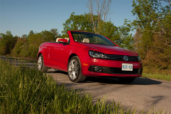 Slide 1 of 17: 2012 Volkswagen Eos Highline