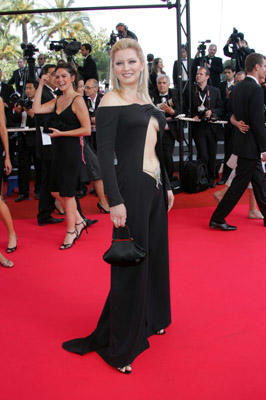 Slide 1 of 30: Elena Lenina  at the Promise Me This premiere in Cannes on May 26, 2007