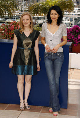 Slide 1 of 61: Sarah Polley and Maggie Cheung