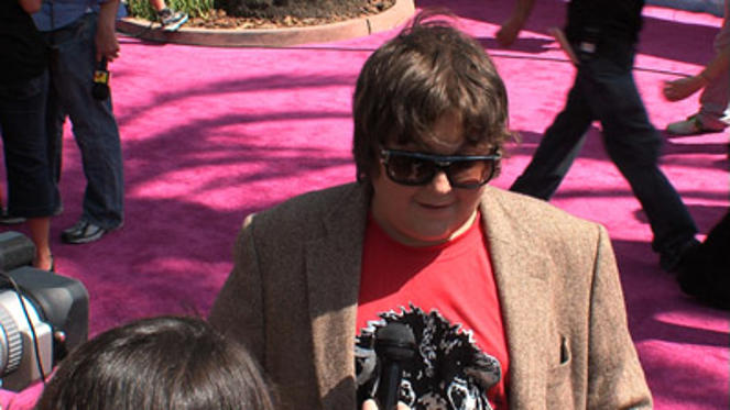 "Slide 1 of 36: <a href=/celebs/celeb.aspx?c=1248887 Arg=""1248887"" type=""Msn.Entertain.Server.WebControls.LinkableMoviePerson"" LinkType=""Page"">Andy Milonakis</a>"