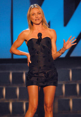Slide 1 of 47: Cameron Diaz presents MTV Generation Award to Mike Myers