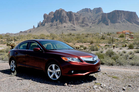 Slide 1 of 17: 2013 Acura ILX Tech