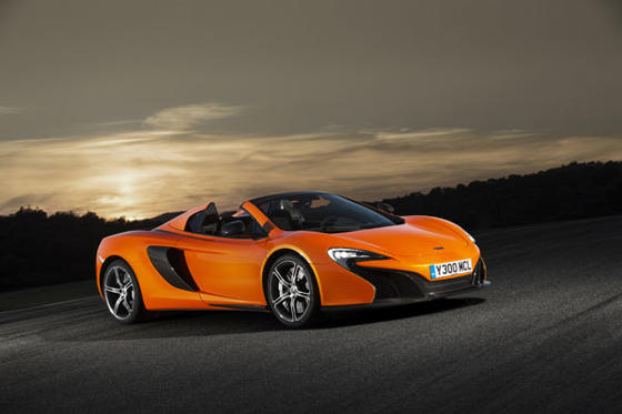 Slide 1 of 38: 2015 McLaren 650S Spider