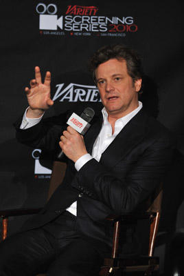 "Slide 1 of 4: <a href=/celebs/celeb.aspx?c=267996 type=""Msn.Entertain.Server.WebControls.LinkableMoviePerson"" Arg=""267996"" LinkType=""Page"">Colin Firth</a> attends a screening of ""<a href=/movies/movie.aspx?m=2312709 type=""Msn.Entertain.Server.WebControls.LinkableMovie"" Arg=""2312709"" LinkType=""Page"">The King's Speech</a>"" during the 2010 Variety <a href=/movies/movie.aspx?m=2268226 type=""Msn.Entertain.Server.WebControls.LinkableMovie"" Arg=""2268226"" LinkType=""Page"">New York</a> Screening Series at AMC Loews 19th Street East 6 theater on November 23, 2010 in <a href=/movies/movie.aspx?m=2268226 type=""Msn.Entertain.Server.WebControls.LinkableMovie"" Arg=""2268226"" LinkType=""Page"">New York</a>, <a href=/movies/movie.aspx?m=2268226 type=""Msn.Entertain.Server.WebControls.LinkableMovie"" Arg=""2268226"" LinkType=""Page"">New York</a>."