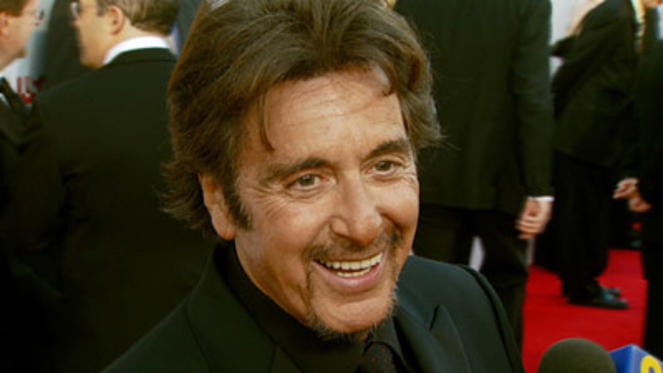 Slide 1 of 31: INTERVIEW: Al Pacino on being honored and being surprised it actually happened, on advice he would have given himself as a young actor, on finding it hard to find new things to accomplish and on never retiring