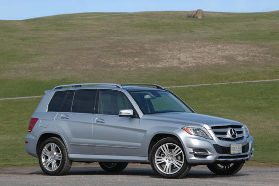 Slide 1 of 13: 2013 Mercedes GLK 250 BlueTec