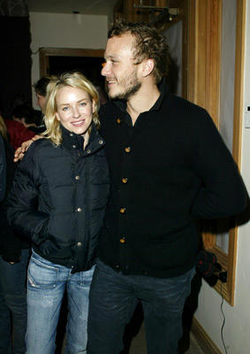 Slide 1 of 4: Naomi Watts and Heath Ledger