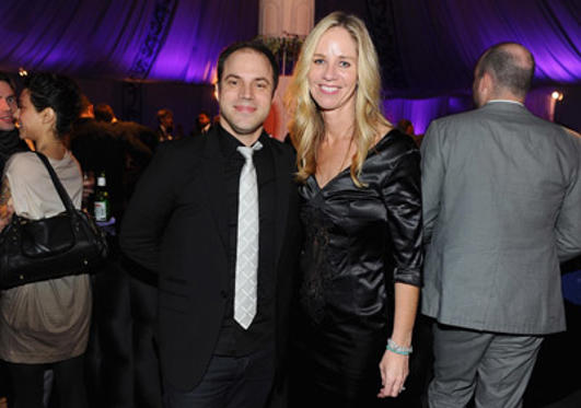 "Slide 1 of 15: Geoff Johns, chief creative officer of DC Entertainment and Diane Nelson president of DC Entertainment attend the premiere of ""Harry Potter and the Deathly Hallows: Part 1"" after party at Lincoln Square on November 15, 2010 in New York City. at the New York premiere in New York on November 14, 2010"