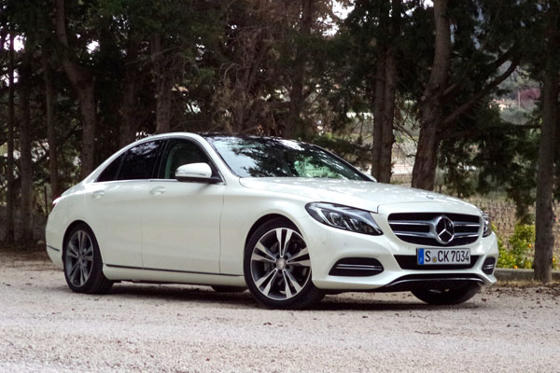 Slide 1 of 44: 2015 Mercedes-Benz C 250 BlueTec